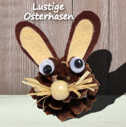 Lustige Osterhasen
