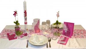 Tisch-rosa